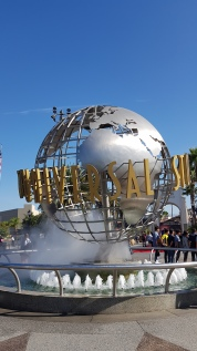 Visite du parc Universal-Hollywood